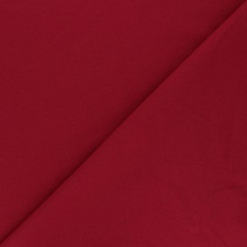 Recycled jersey Fabric - red Unic x 10cm