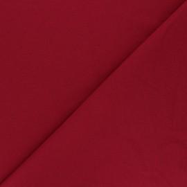 Tissu jersey recyclé Unic - rouge x 10cm