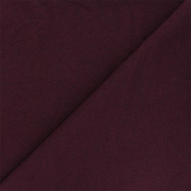 Recycled jersey Fabric - purple red Unic x 10cm