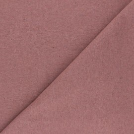 Recycled jersey Fabric - tea pink Unic x 10cm