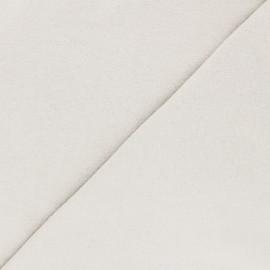 Tissu jersey recyclé Unic - écru x 10cm