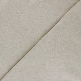 Recycled jersey Fabric - greige Unic x 10cm