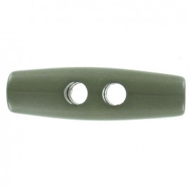 Large log button - khaki