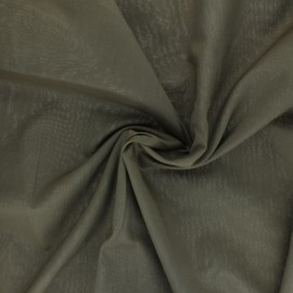 Cotton Voile Fabric - khaki green x 10cm