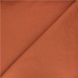 Polycotton fabric - ginger x 10cm