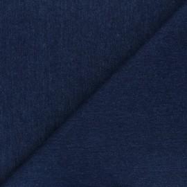 Tissu jeans - bleu marine x 10cm