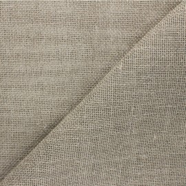 Linen canvas fabric - natural Excellence x 10cm