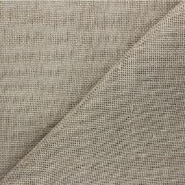 Tissu toile de lin Excellence - naturel x 10cm