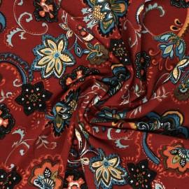 Viscose Jersey Fabric - terracotta Nako x 10 cm