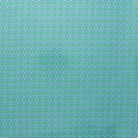 Petit Pan coated cotton fabric - green Mikko x 10cm
