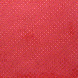 Tissu coton enduit Petit Pan Zazen - rose x 10cm