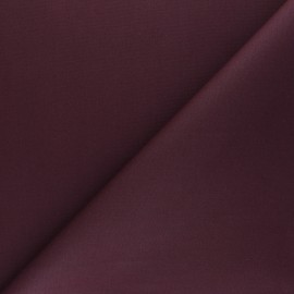 Dry Waxed Cotton Fabric - purple red x 10cm