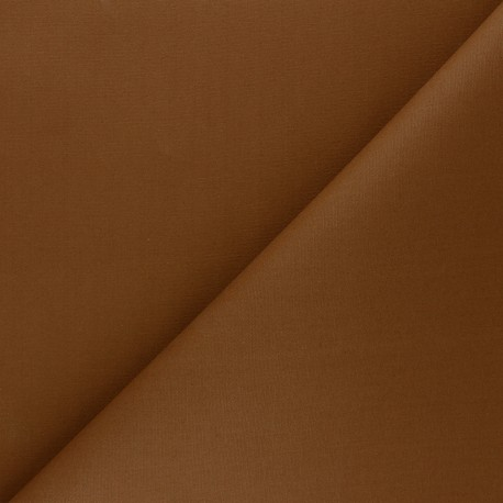 Dry Waxed Cotton Fabric - camel x 10cm