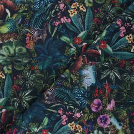 Tissu coton Venezuela - vert x 10cm