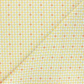 Tissu coton Petit Pan Hélium - jaune x 10cm