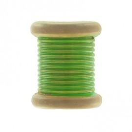Bouton Bobine vert