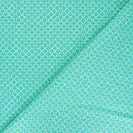 Petit Pan cotton fabric - green Zazen x 10cm
