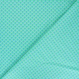 Tissu coton Petit Pan Zazen - vert x 10cm