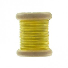 Bobbin button - yellow