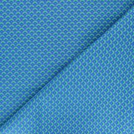 Tissu coton Petit Pan Zazen - bleu x 10cm