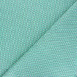 Tissu coton Petit Pan Mulino - vert x 10cm