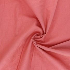 Washed cotton fabric - marsala Unico x 10cm