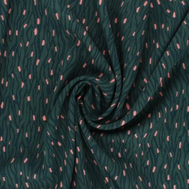 Tissu Viscose Radiance Imaé by Penelope® - vert x 10cm