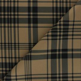 Tissu drap manteau léger Amsterdam - Sable x 10cm