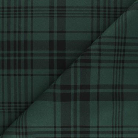 Light coat sheet fabric - green Amsterdam x 10cm