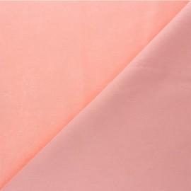 Plain cotton fabric - bubble-gum pink Nuance x 10cm