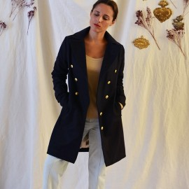 Coat Sewing Pattern Maison Fauve - Ray