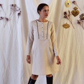 Dress/Blouse Sewing Pattern Maison Fauve - Maïa