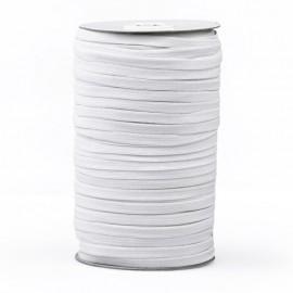 6,5 mm PRYM facemask elastic - White