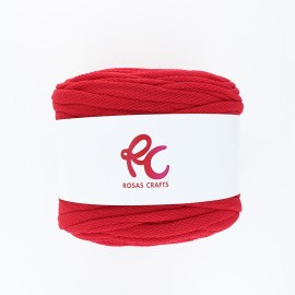 Trapilho quilted yarn - Rouge Pluma