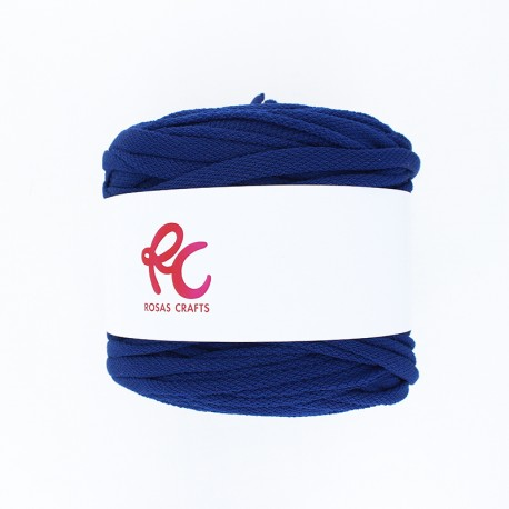 Trapilho quilted yarn - ink blue Pluma