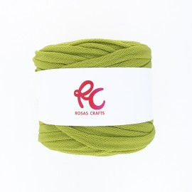 Trapilho quilted yarn - apple green Pluma