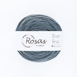 Premium trapilho yarn - dark grey