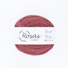 Premium trapilho yarn - rose wood