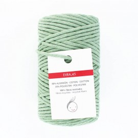 6mm recycled macramé cord - sage green Evra