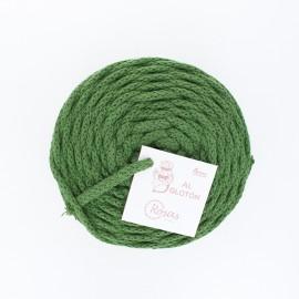 Cordon recyclé 4 mm - vert prairie
