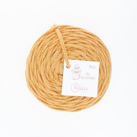 4mm recycled cord - mimosa yellow