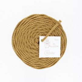 4mm recycled cord - mustard yellow