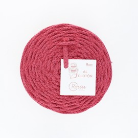 4mm recycled cord - grenadine