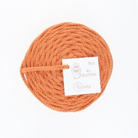 4mm recycled cord - orange