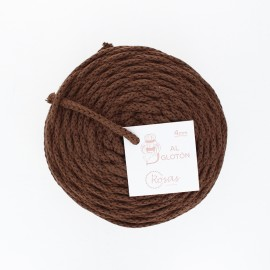 4mm recycled cord - brown