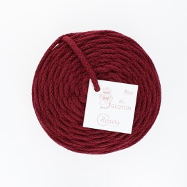 4mm recycled cord - dark red