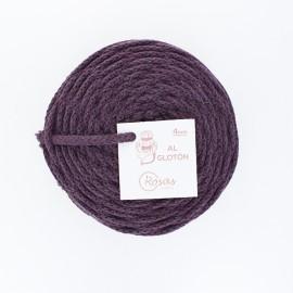 Cordon recyclé 4 mm - violet