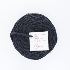 4mm recycled cord - anthracite grey