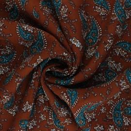 Tissu Viscose Jasmine - camel x 10 cm