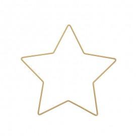 Étoile métal Rico Design - or